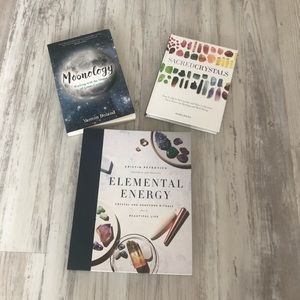 Moonology Elemental energy & sacred crystals book